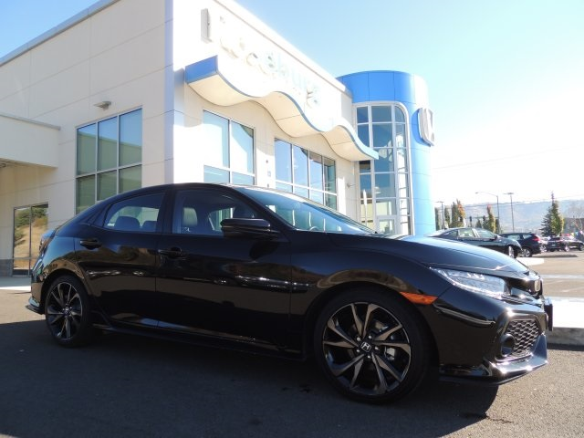Certified Pre Owned 2017 Honda Civic Sport Touring 4d Hatchback In